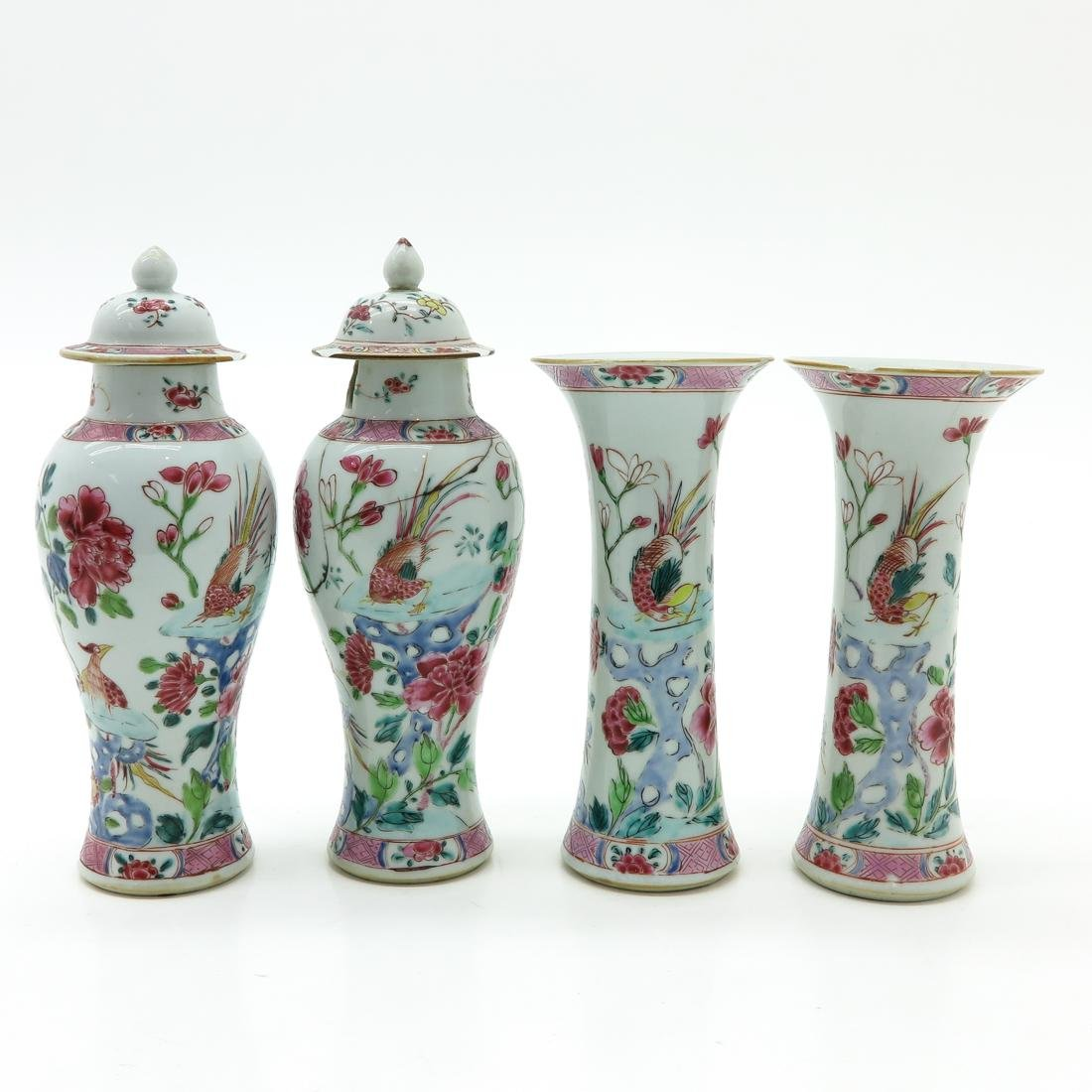 4 Piece Garniture Set
