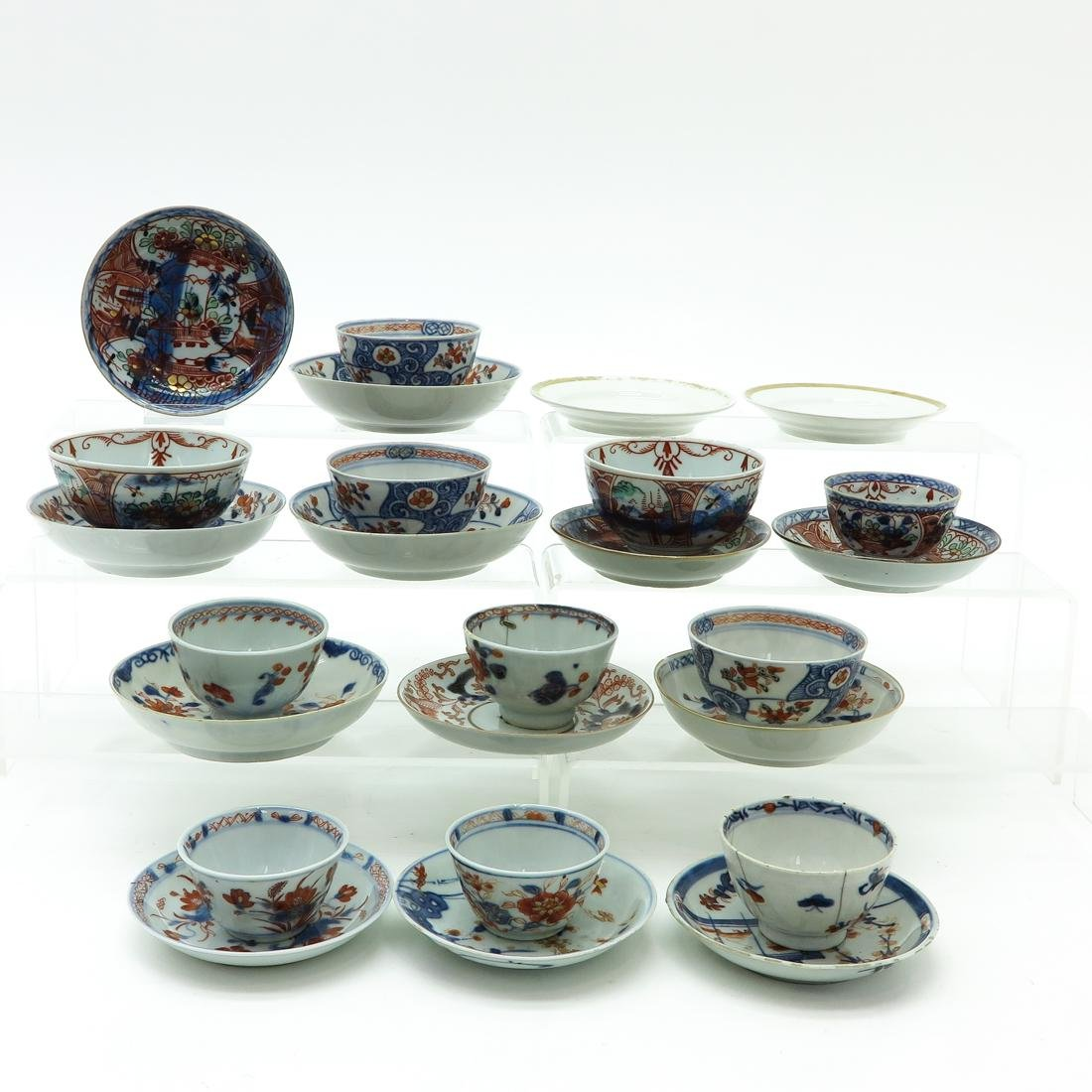 Diverse Lot of Cups and Saucers - 4