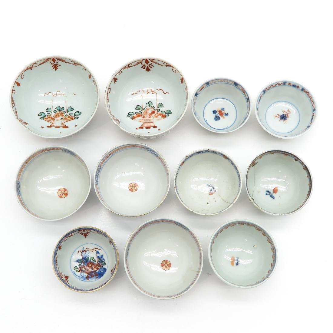 Diverse Lot of Cups and Saucers - 7
