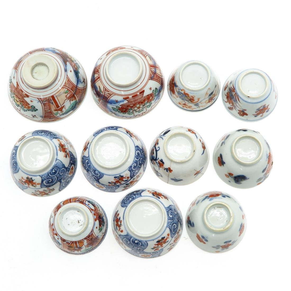 Diverse Lot of Cups and Saucers - 8