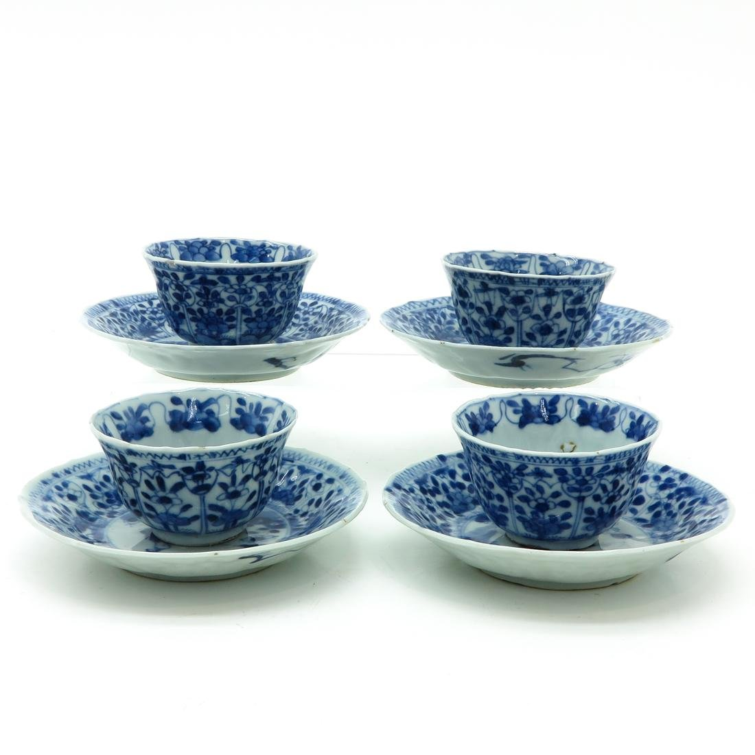 Lot of 4 Cups and Saucers - 3