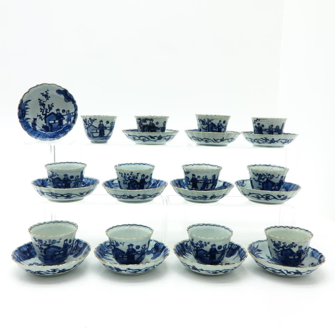 Lot of 12 Cups and Saucers
