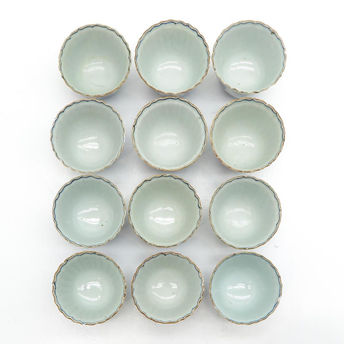 Lot of 12 Cups and Saucers - 7