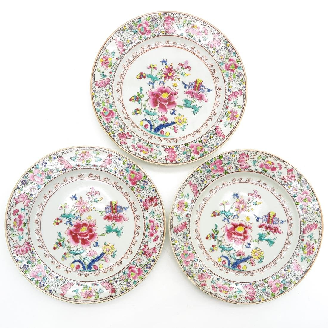 Lot of 3 Plates