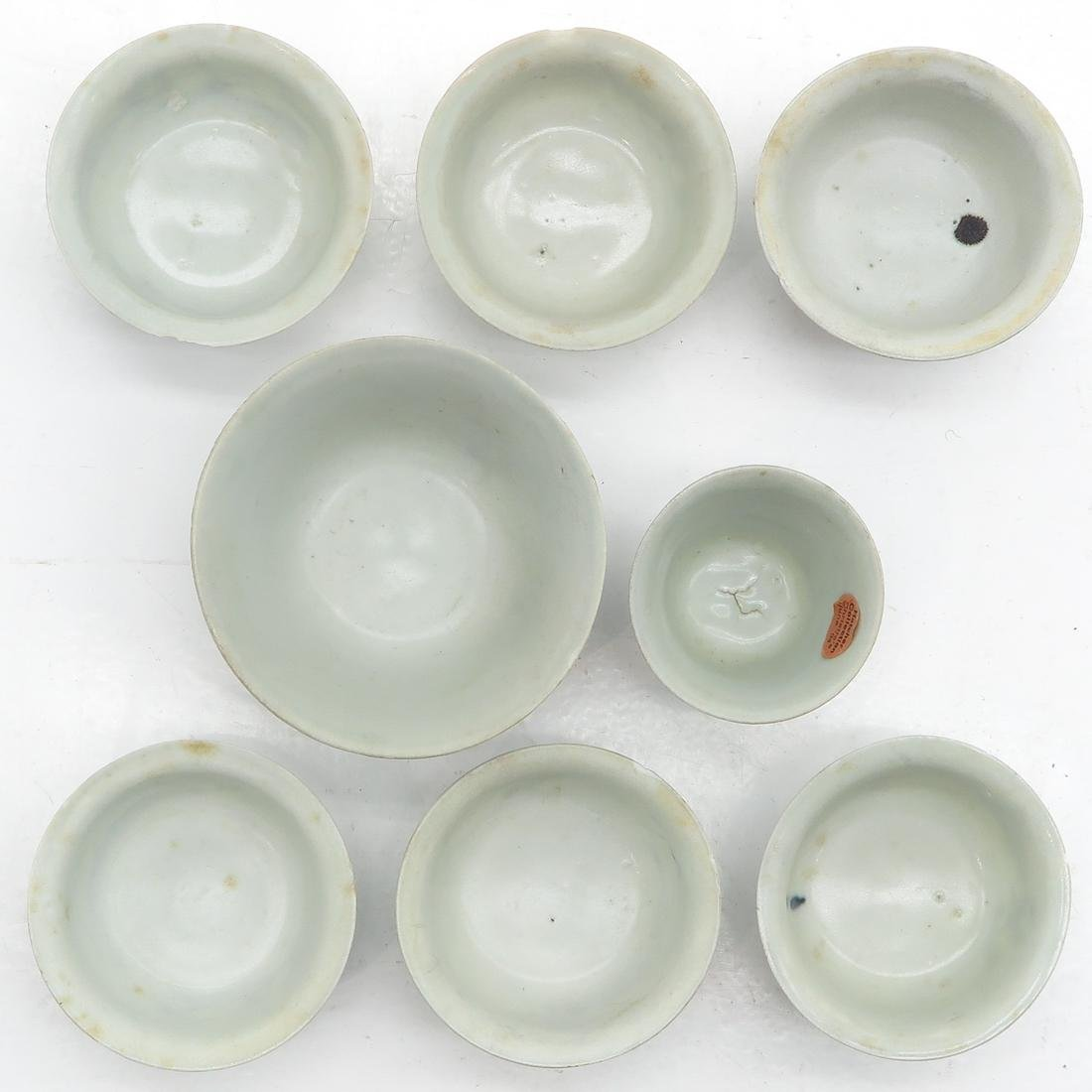 Lot of 8 Small Cups - 5