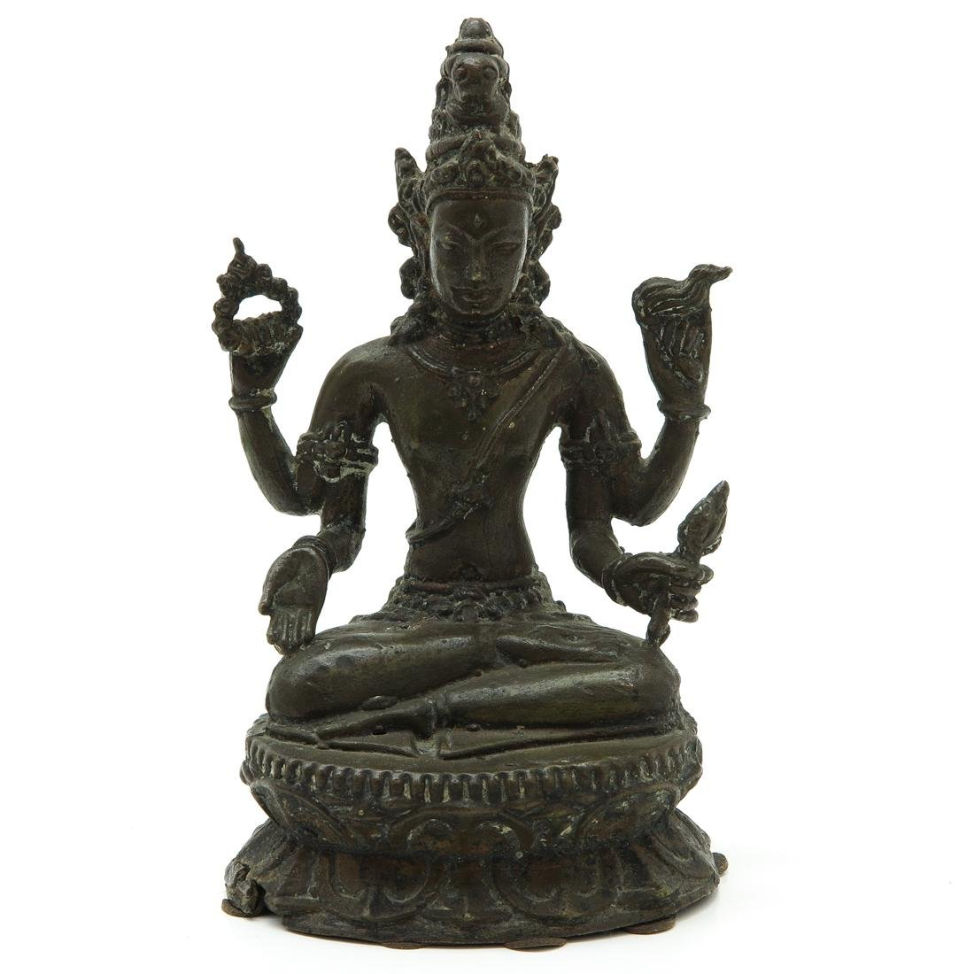 Bronze Buddha Sculpture