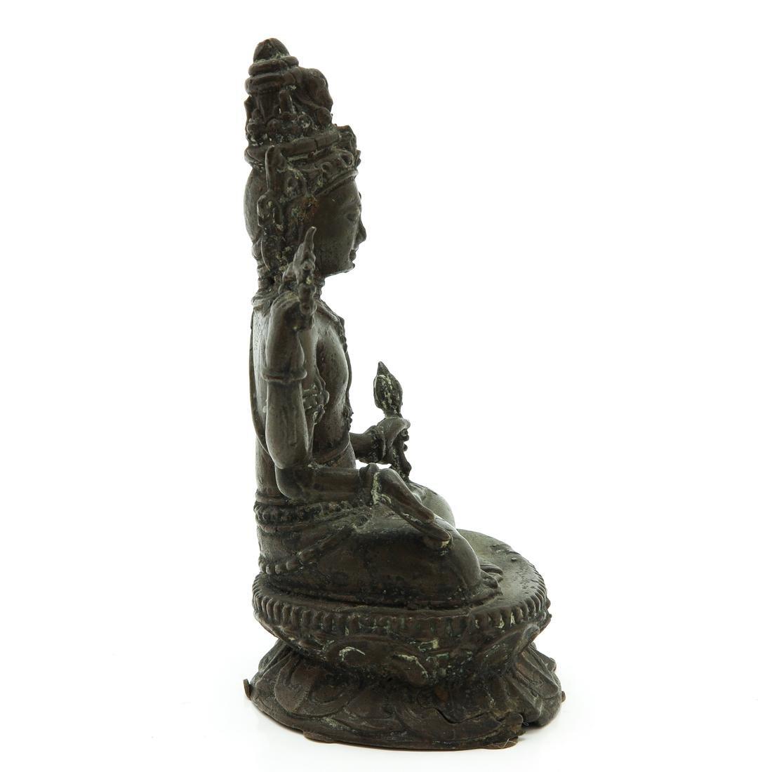 Bronze Buddha Sculpture - 4