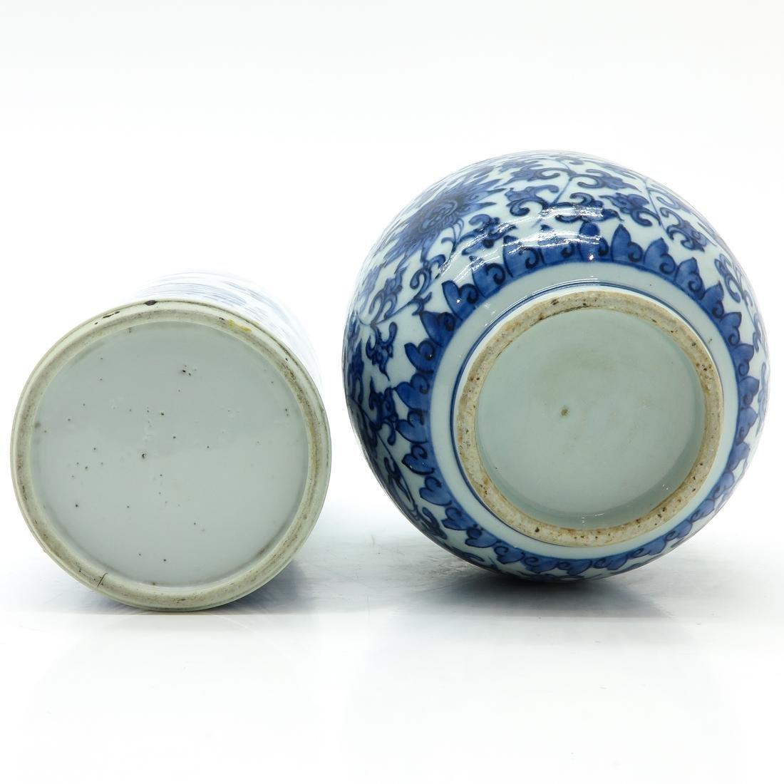 Lot of 2 Vases - 6