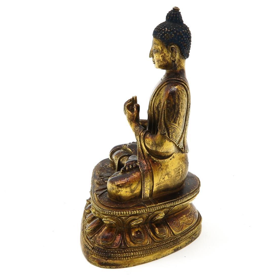 Bronze Buddha Sculpture - 2