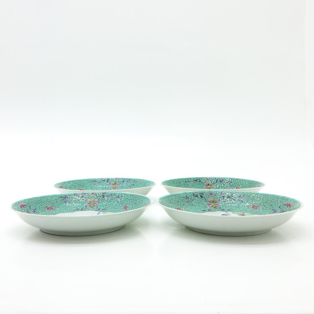 Lot of 4 Plates - 3