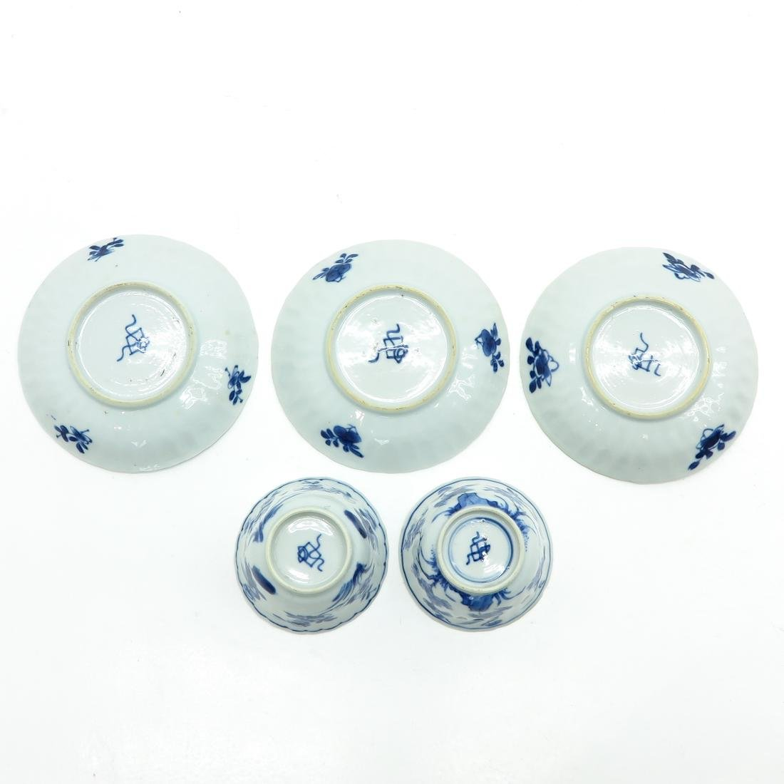 Lot of Cups and Saucers - 6