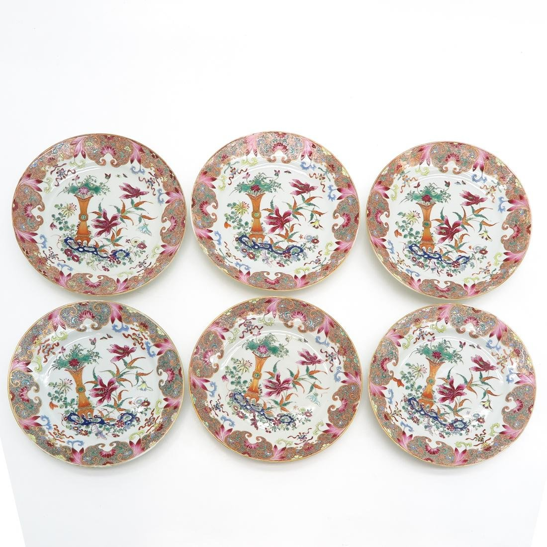 Lot of 6 Plates