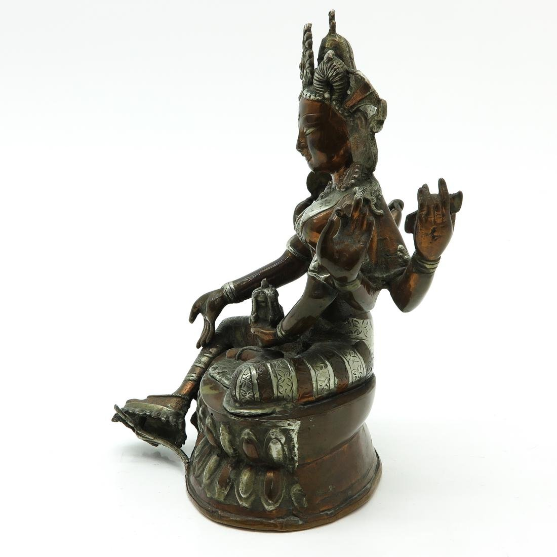 Bronze Buddha Sculpture - 2