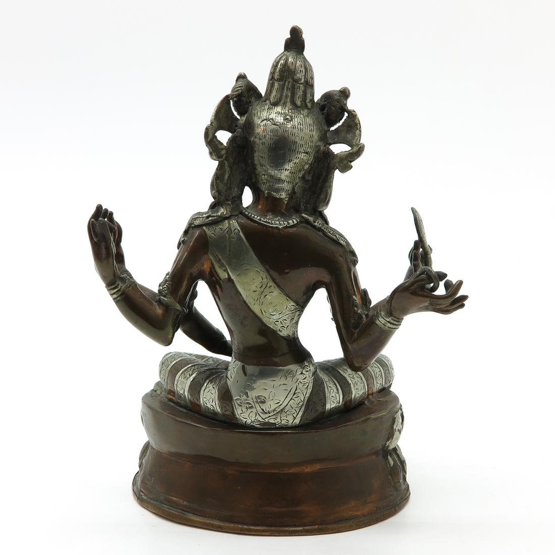 Bronze Buddha Sculpture - 3