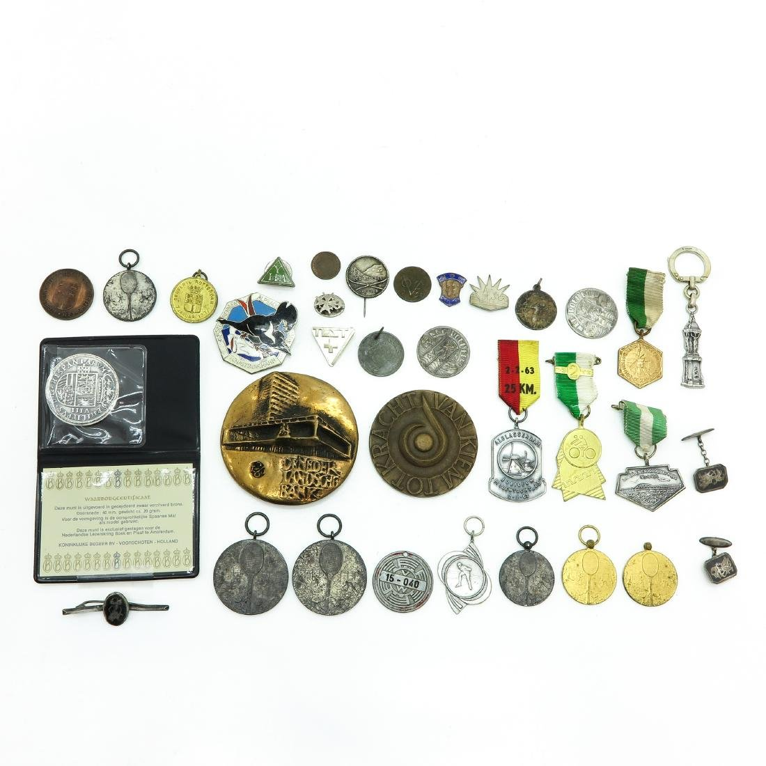 Diverse Lot Including Many Medals