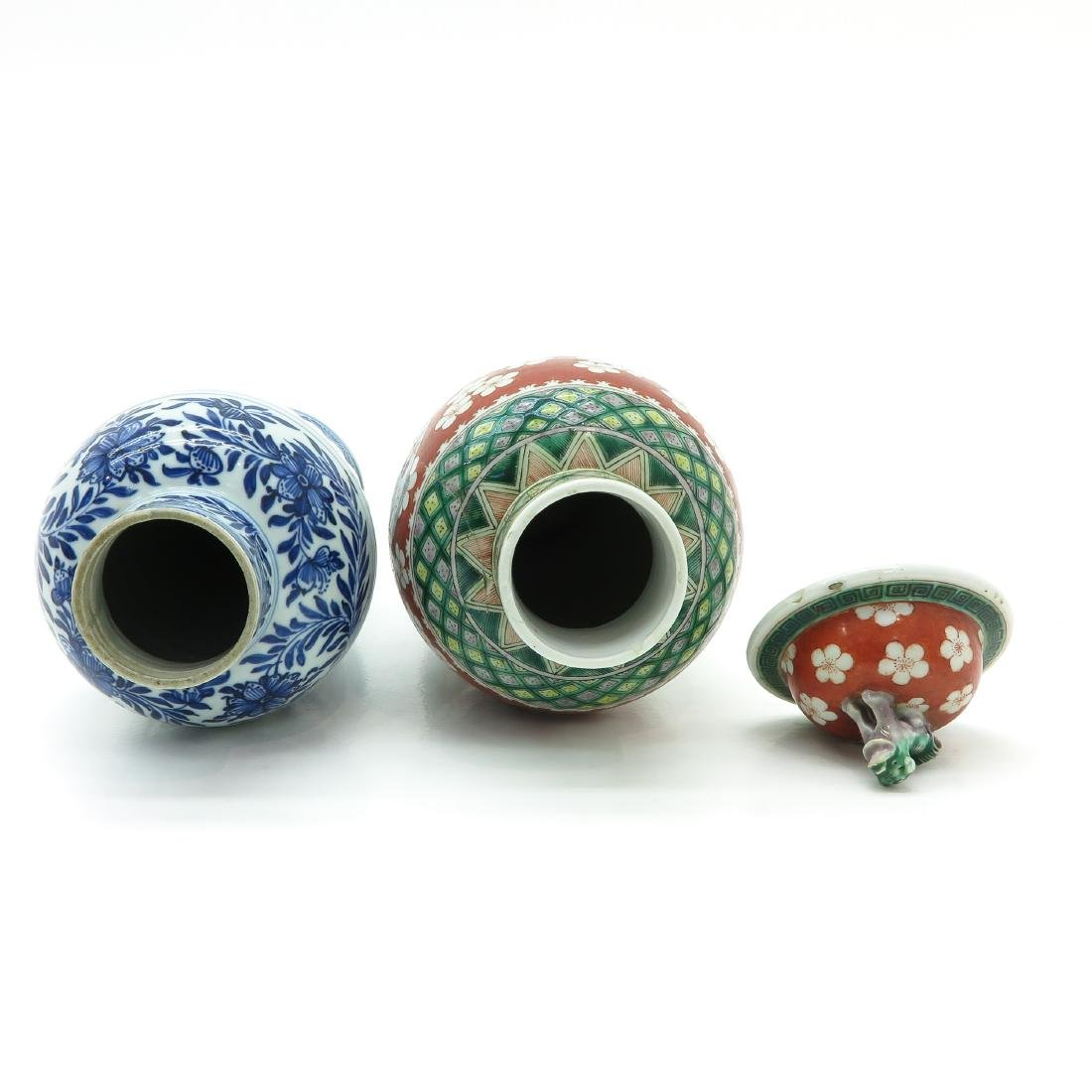 Lot of 2 Vases - 5