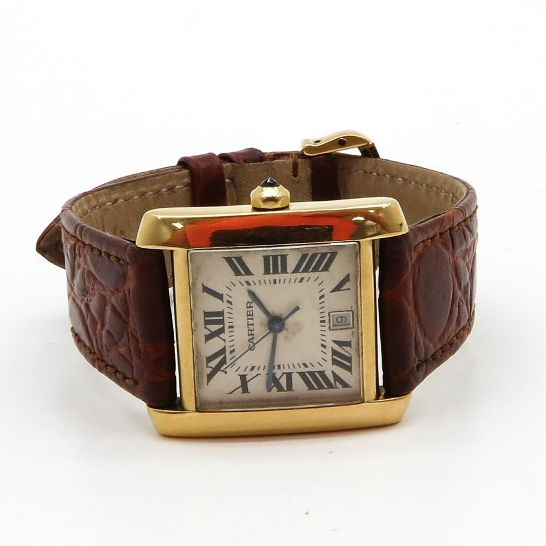 18KG Cartier Watch