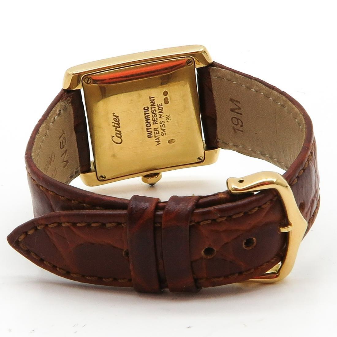 18KG Cartier Watch - 2