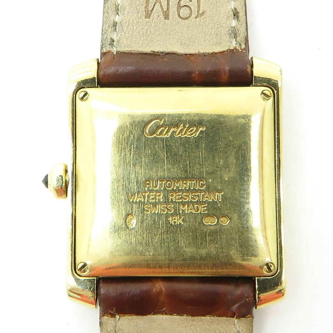 18KG Cartier Watch - 3