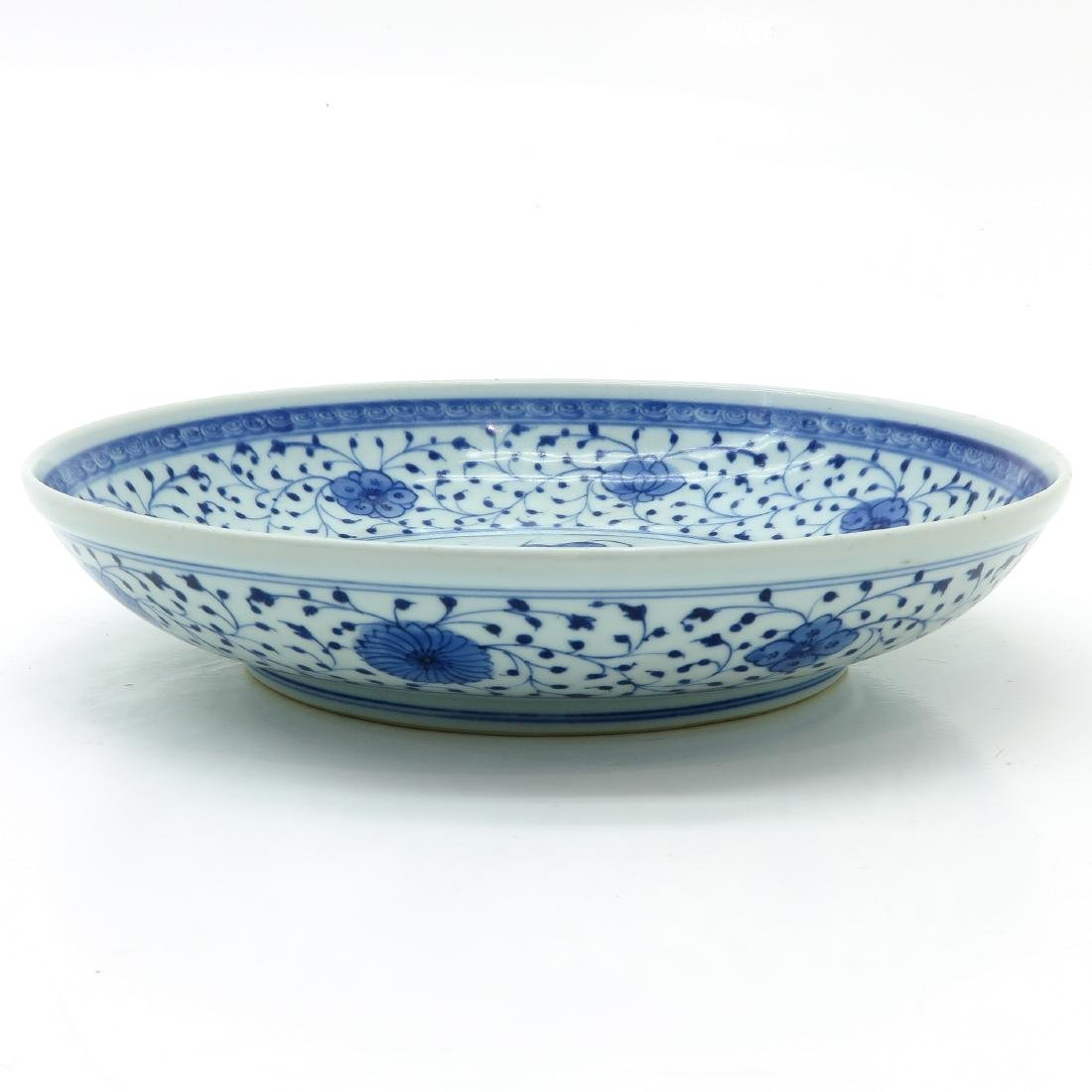 Blue and White Plate - 3