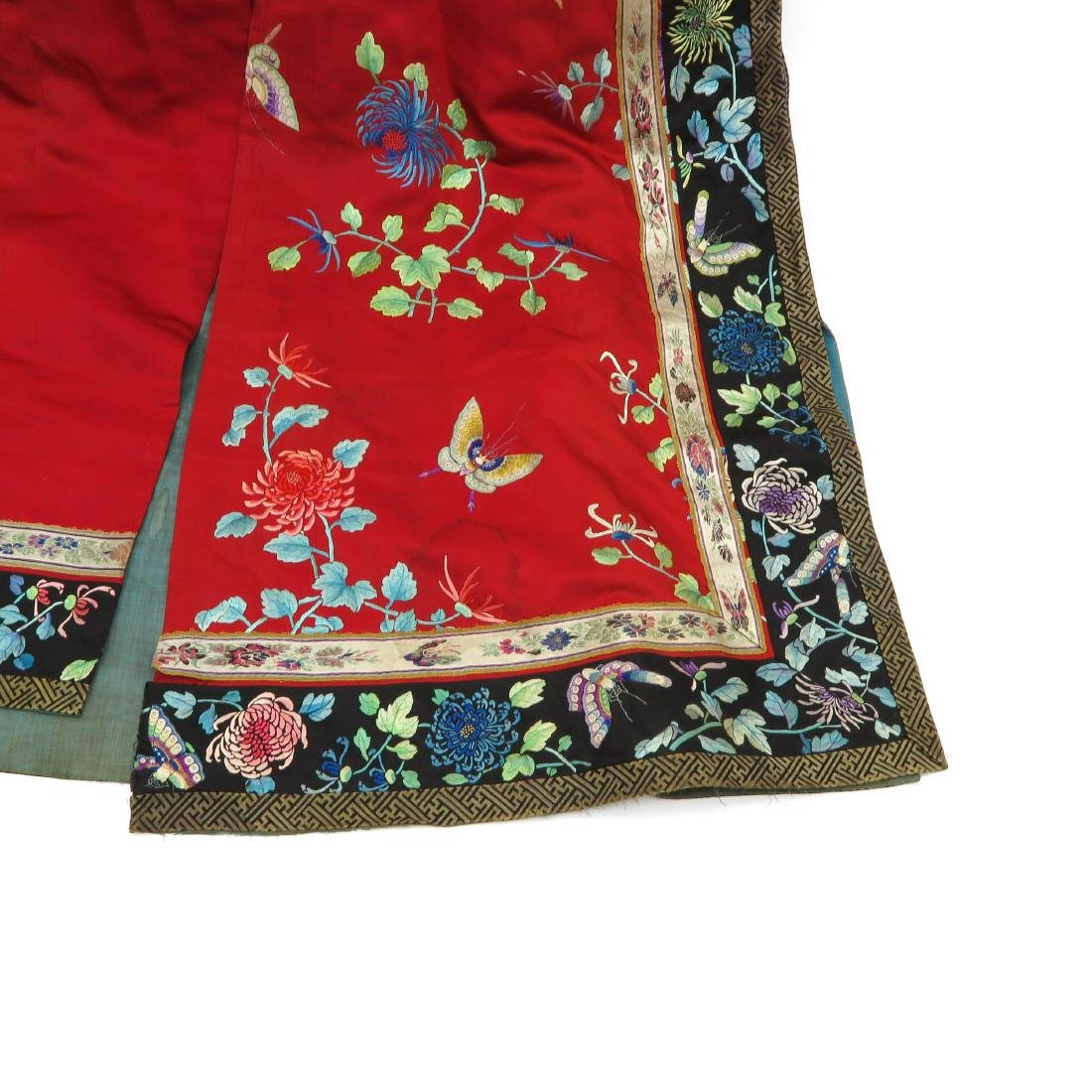 Silk Embroidered Rob - 3