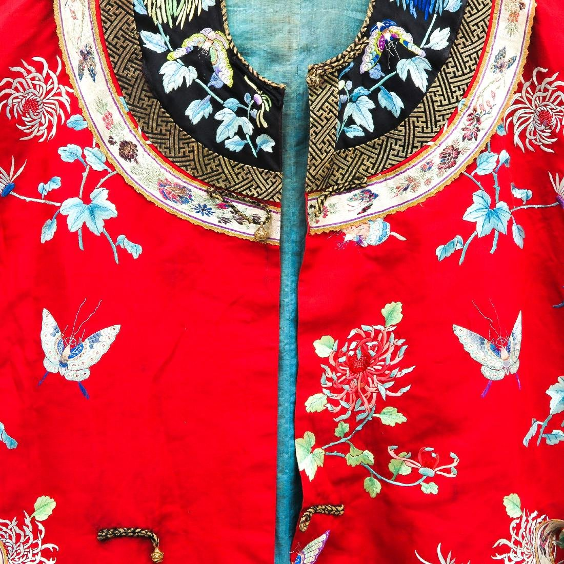 Silk Embroidered Rob - 4