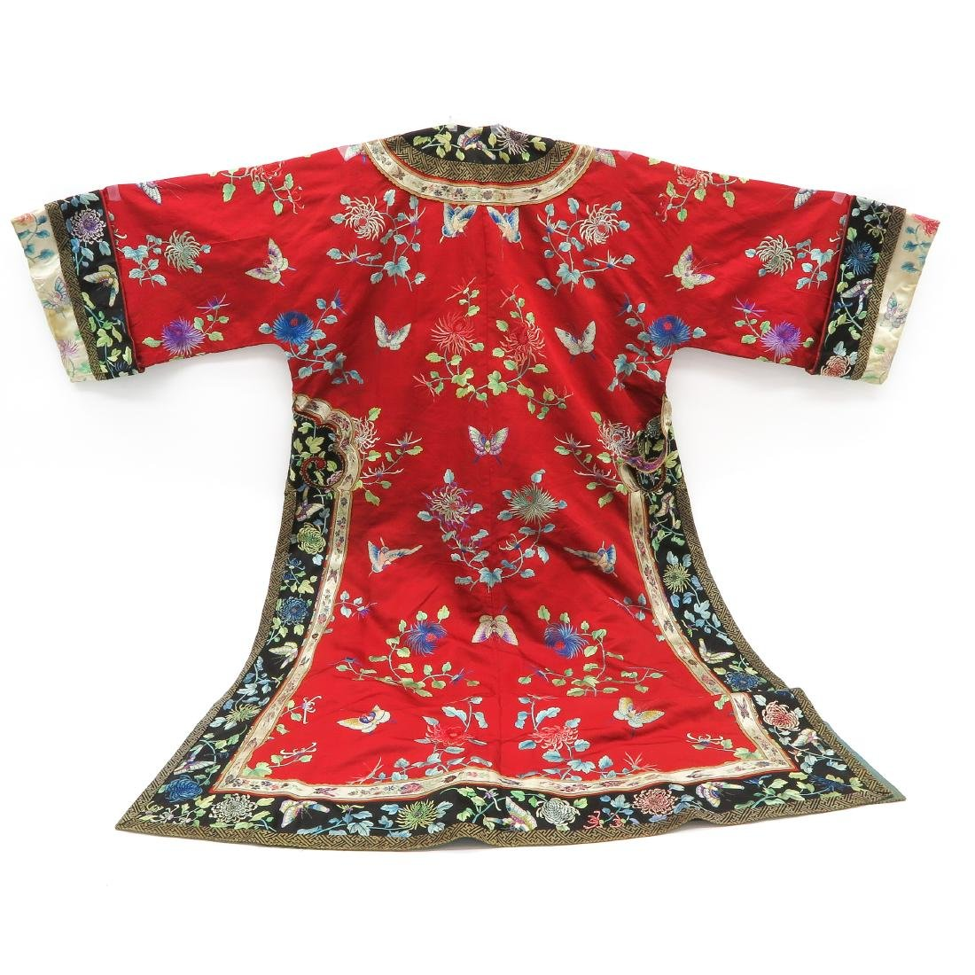 Silk Embroidered Rob - 5