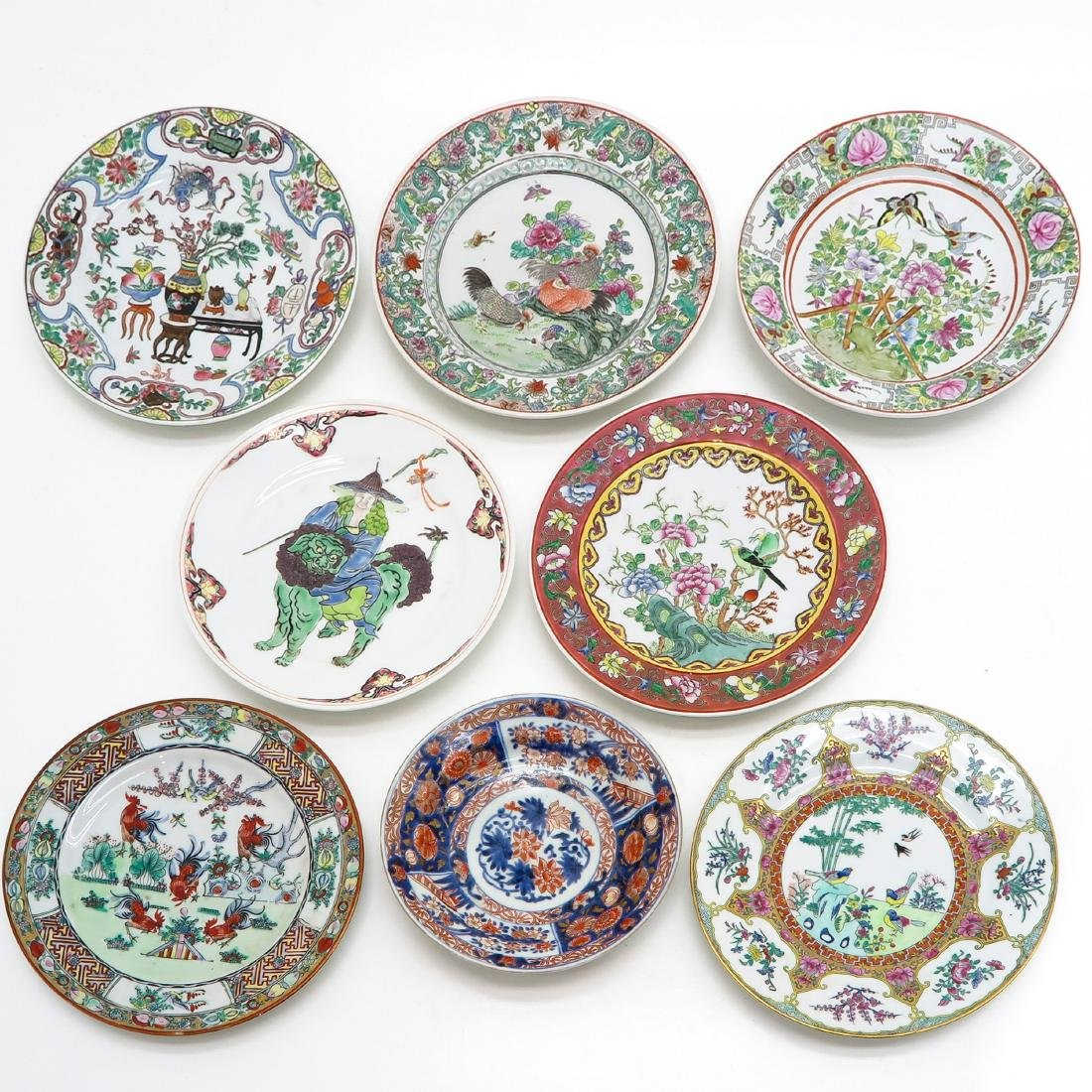 A Diverse Lot of 8 Plates