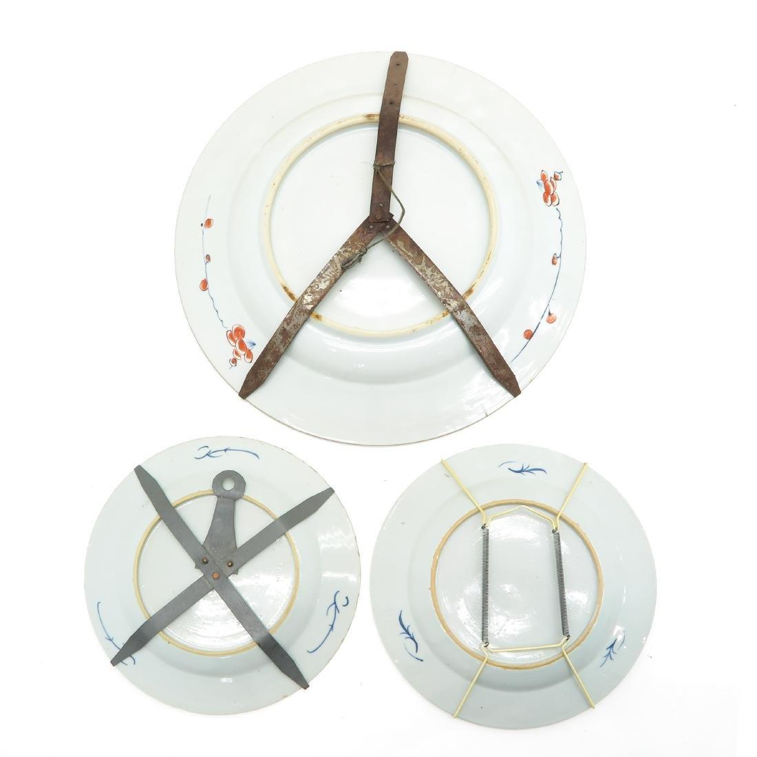 A Lot of 3 Imari Decor Plates - 2