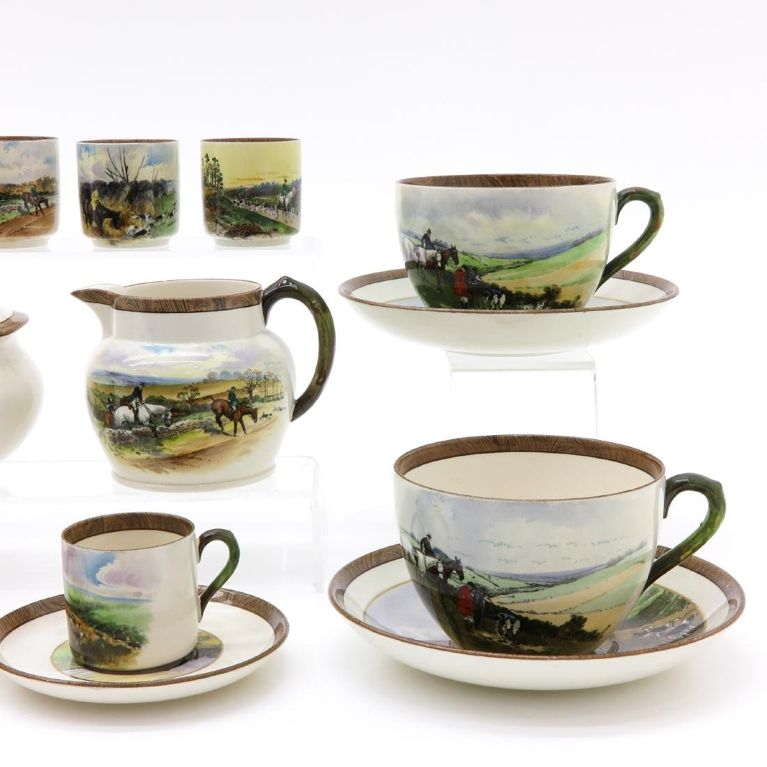 A Large WT Copeland and Son Tea Service - 3