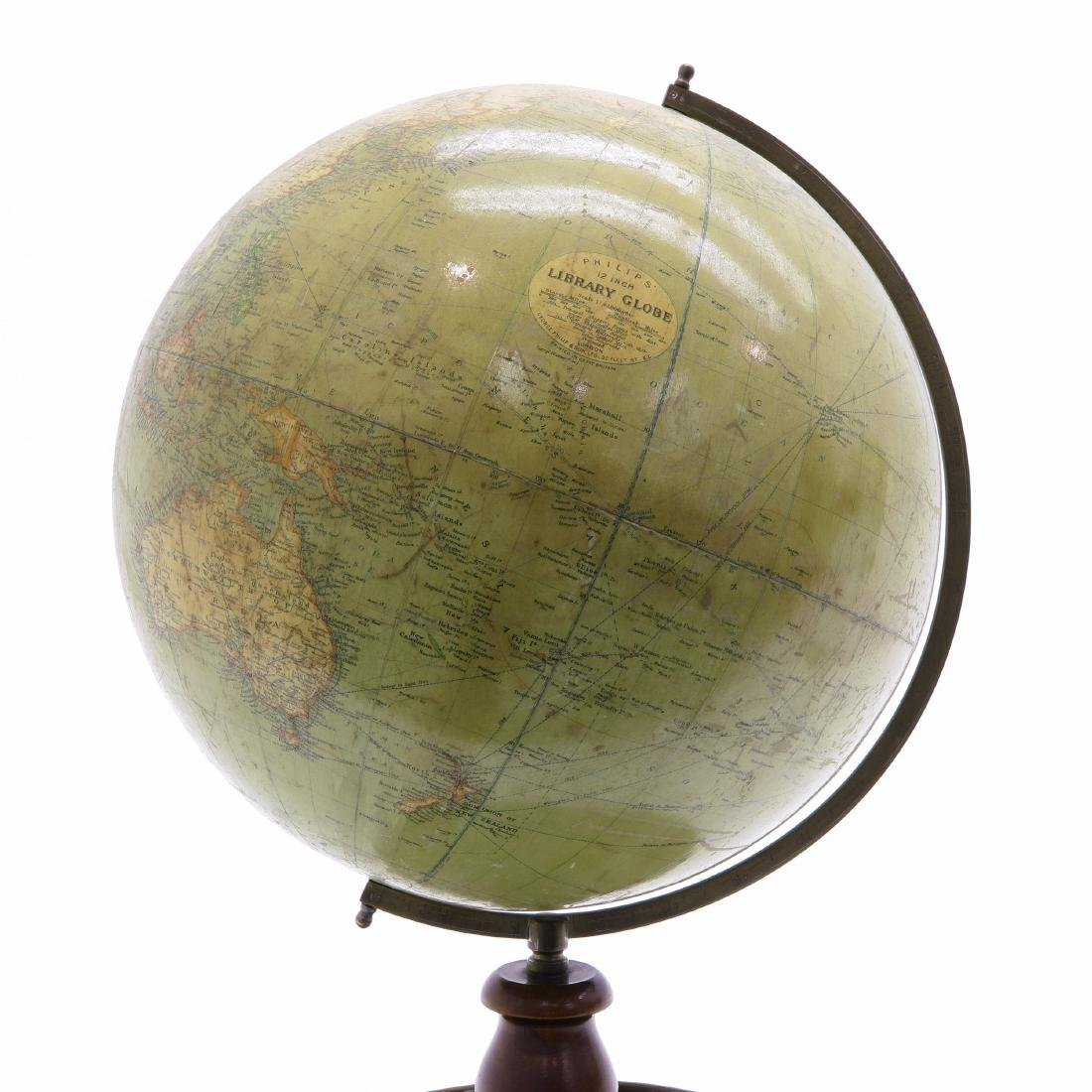 A Philips Terrestrial Library Globe 1930 - 2