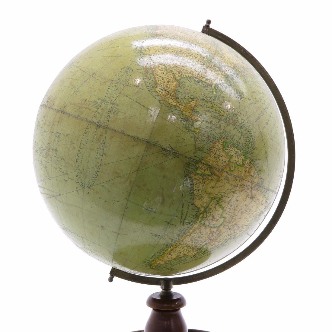 A Philips Terrestrial Library Globe 1930 - 3