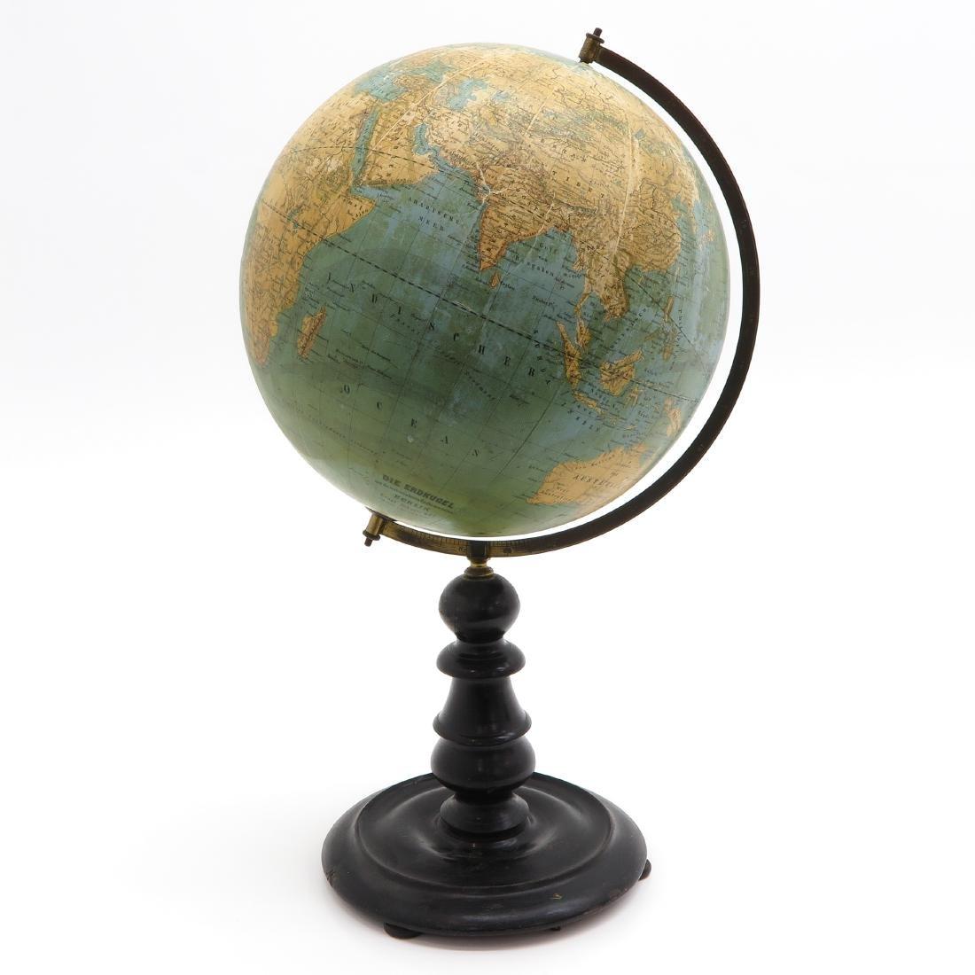 An Ernst Schotte & Co Globe 1872