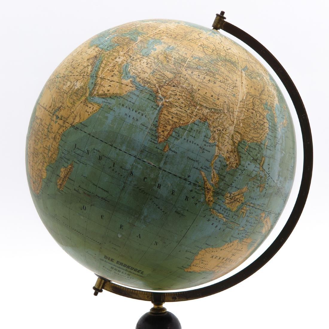 An Ernst Schotte & Co Globe 1872 - 2