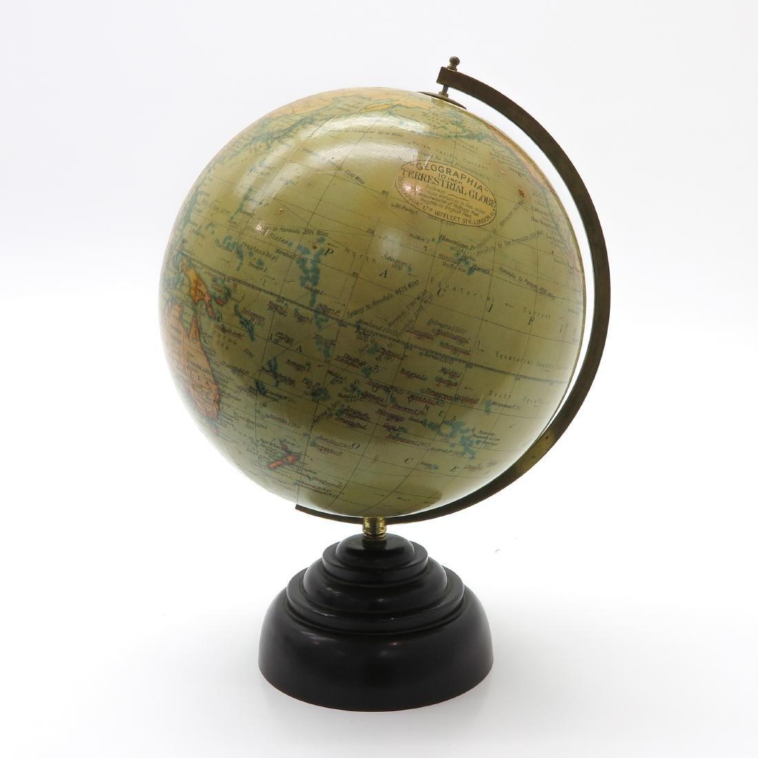 A Geographia Terrestrial Globe 1950