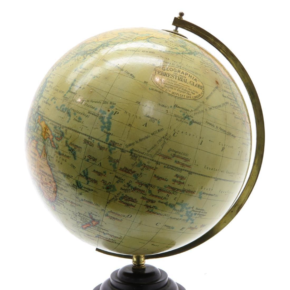 A Geographia Terrestrial Globe 1950 - 2