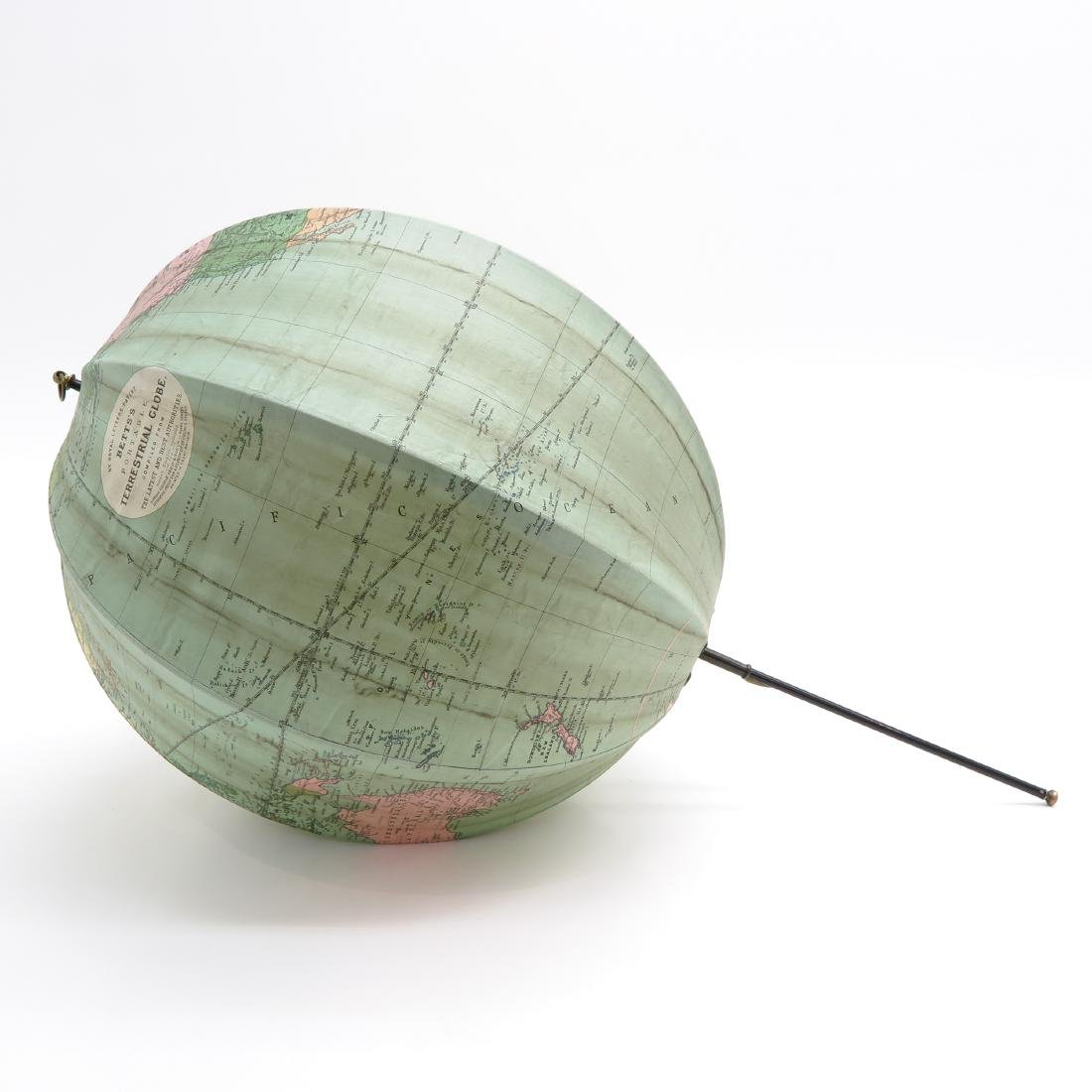 A Bett's Portable Terrestrial Globe with Box 1925