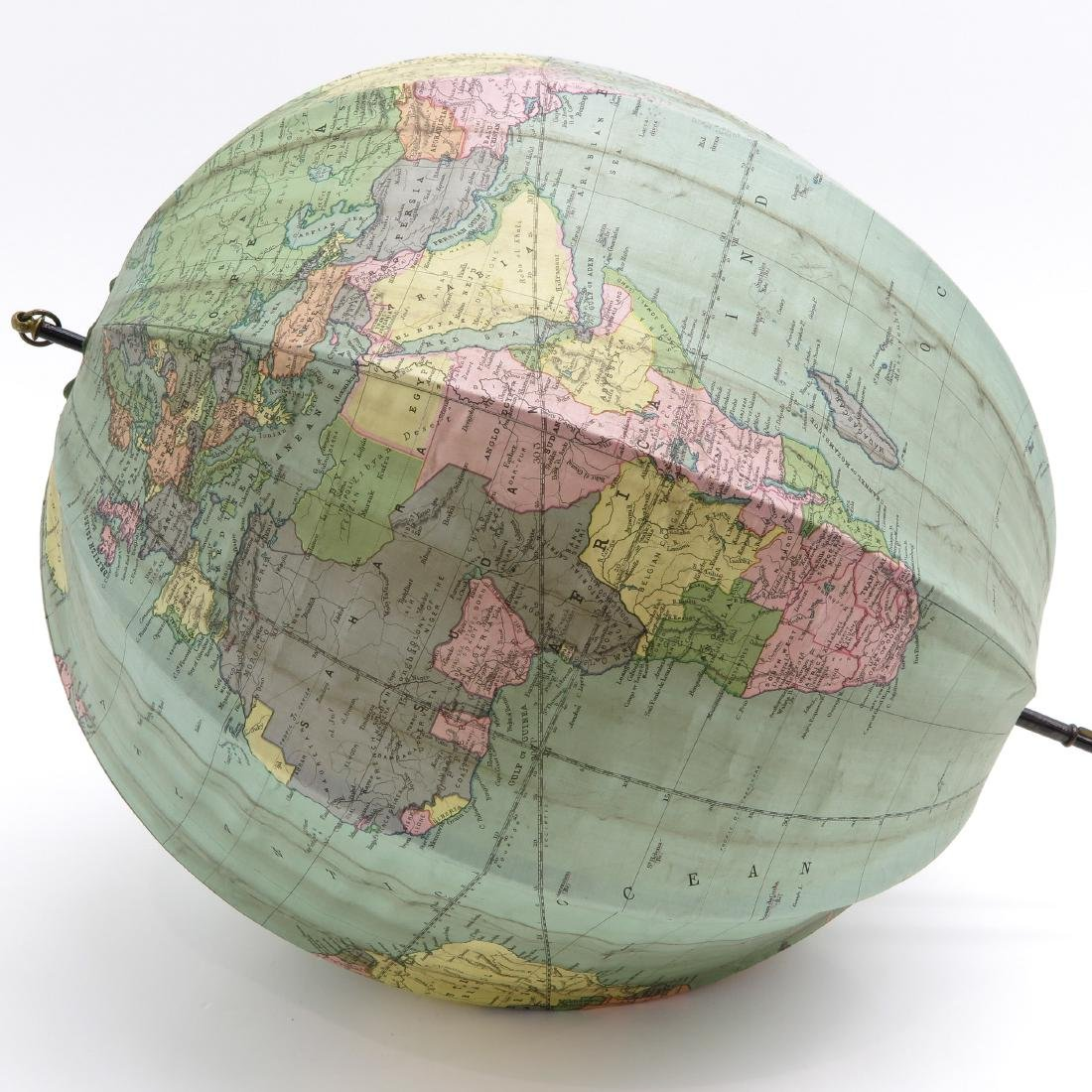 A Bett's Portable Terrestrial Globe with Box 1925 - 4