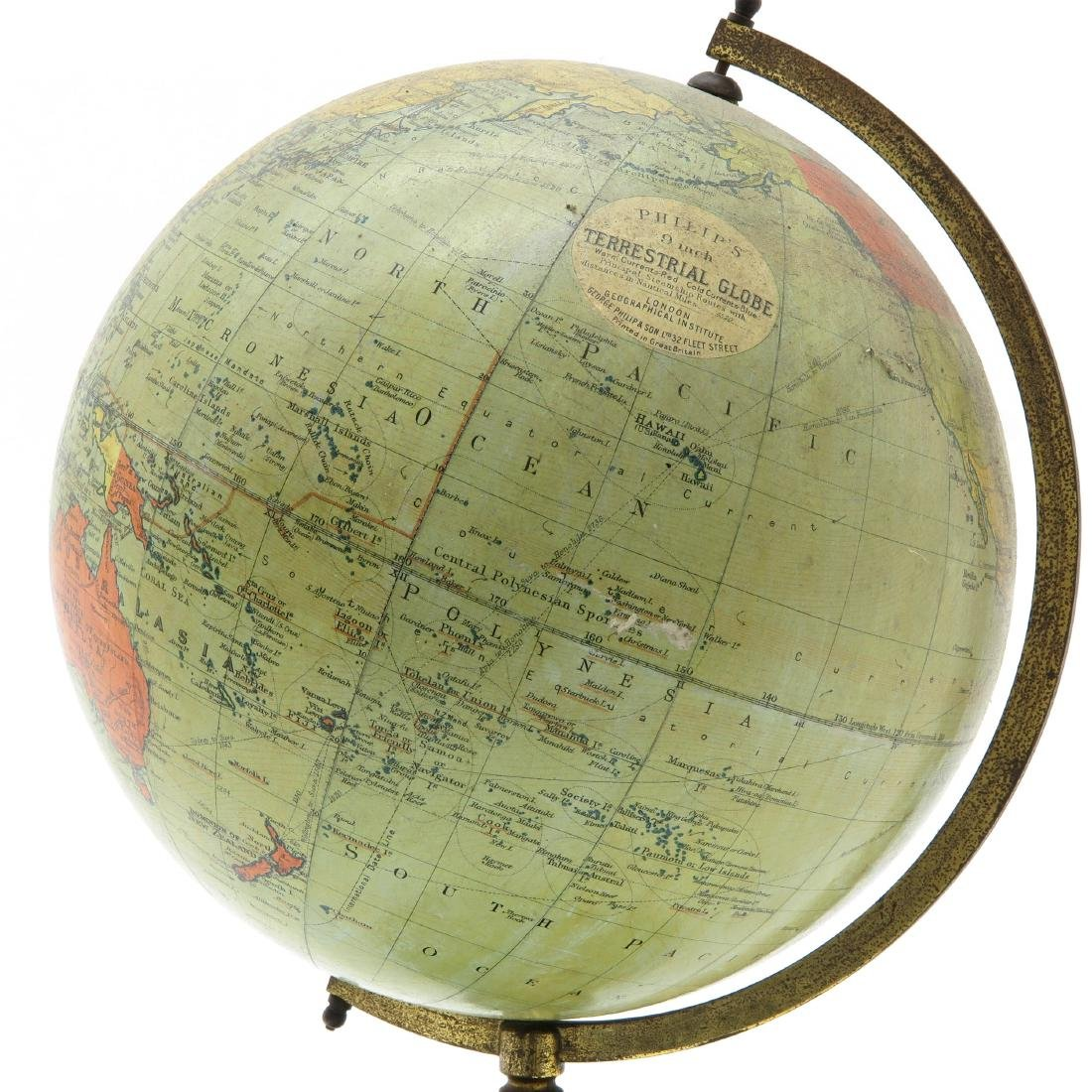 A George Philip & Son Globe 1930 - 2