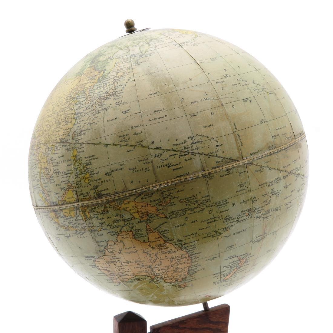 A Weber Costello Terrestrial Globe 1924 - 3