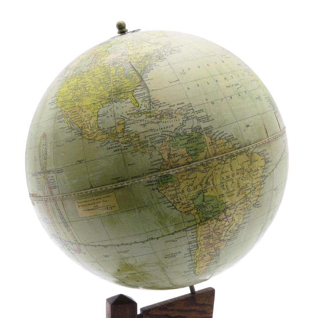 A Weber Costello Terrestrial Globe 1924 - 4