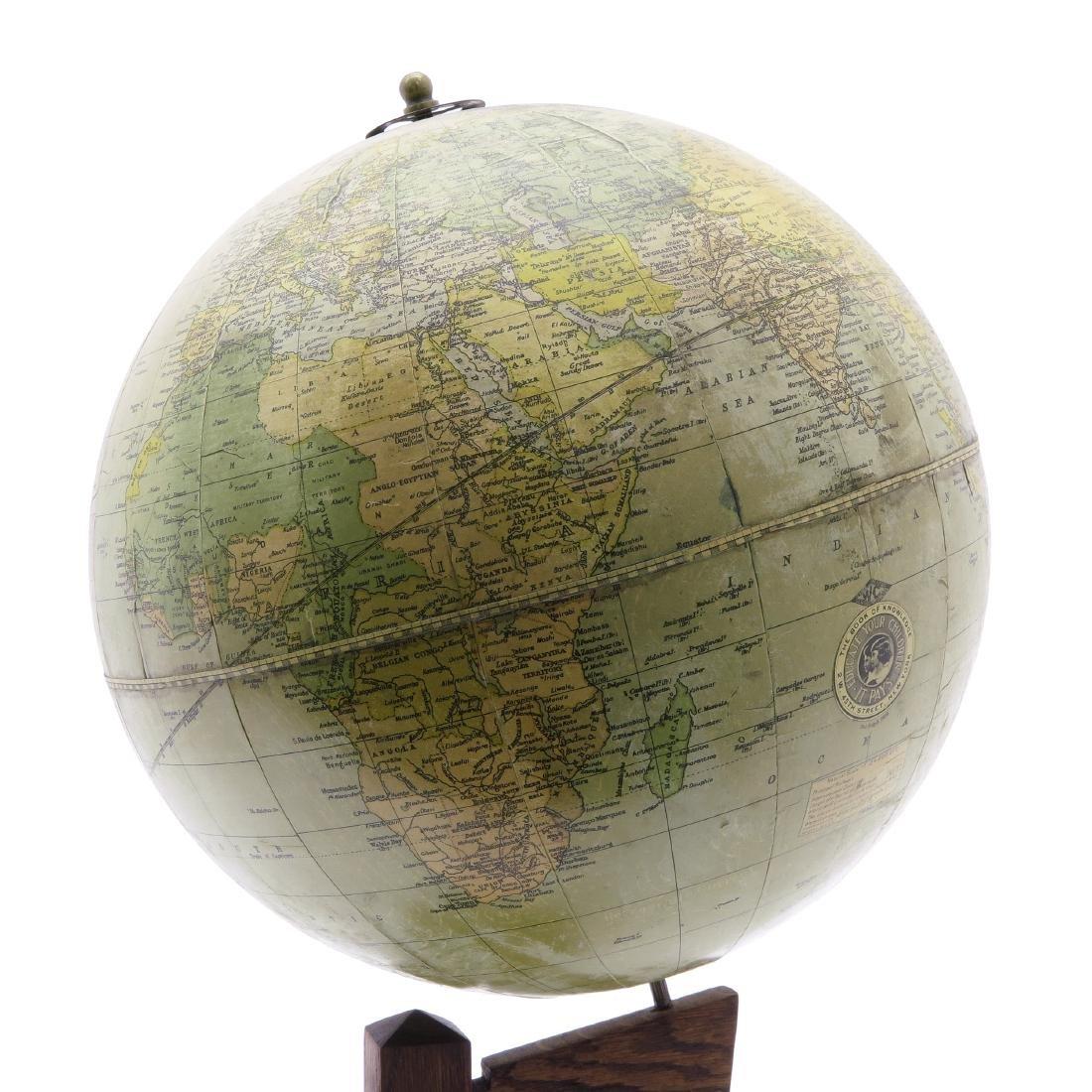 A Weber Costello Terrestrial Globe 1924 - 5