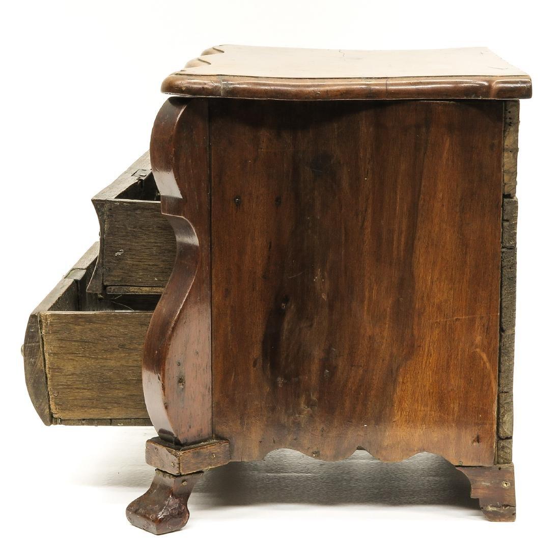 A 19th Century Dutch Miniature Cabinet - 2