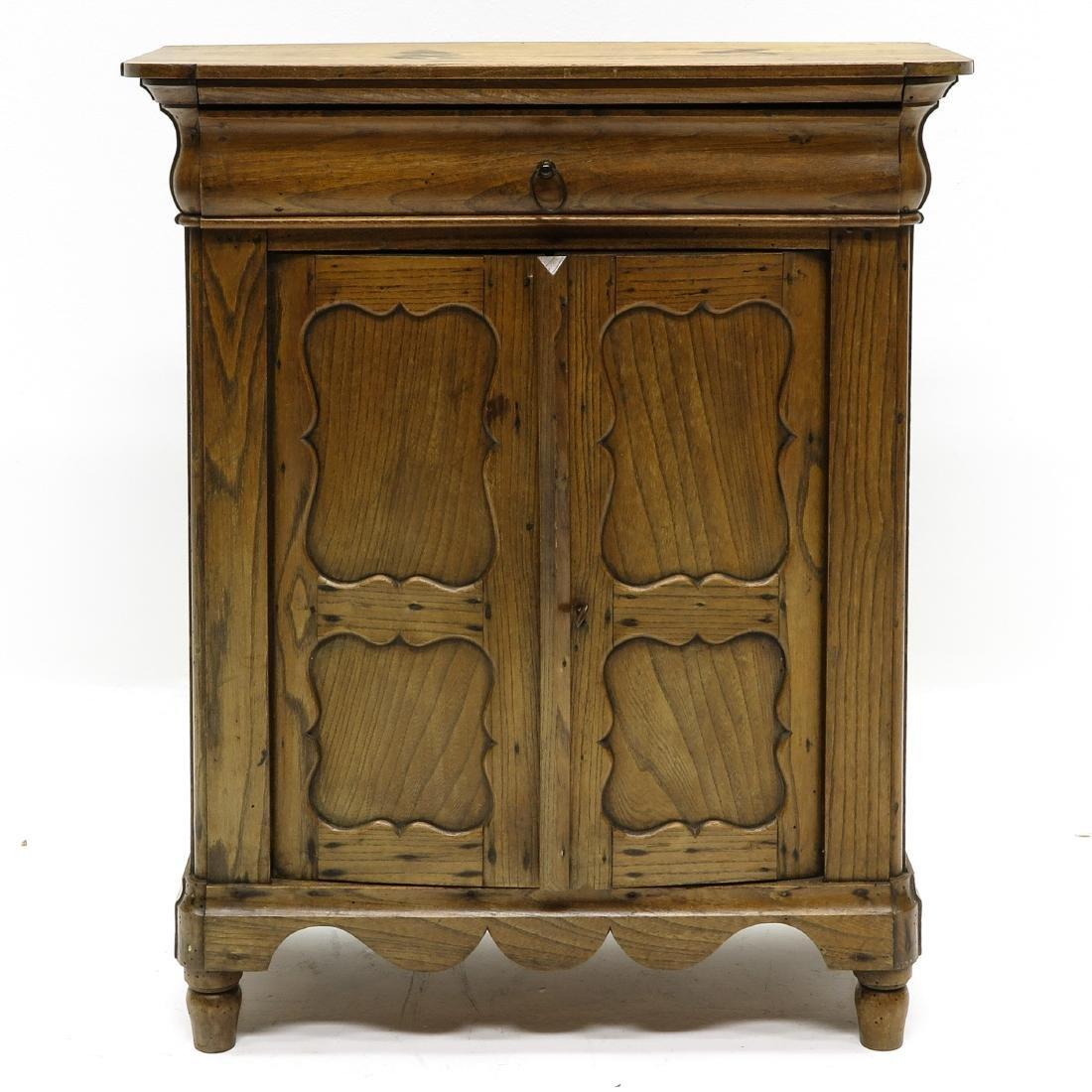A Miniature Biedermeier Cabinet