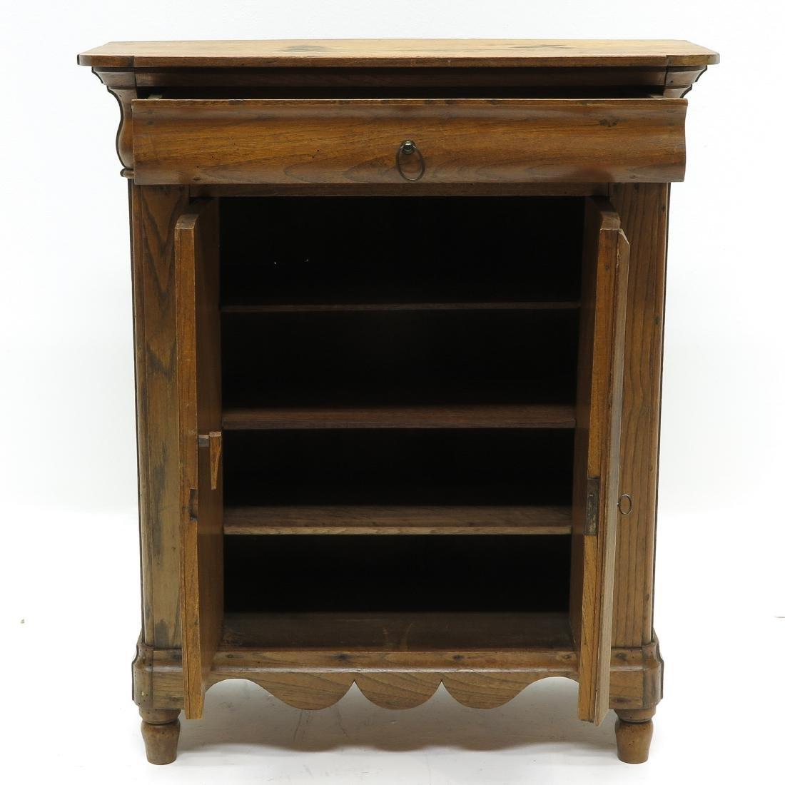 A Miniature Biedermeier Cabinet - 2