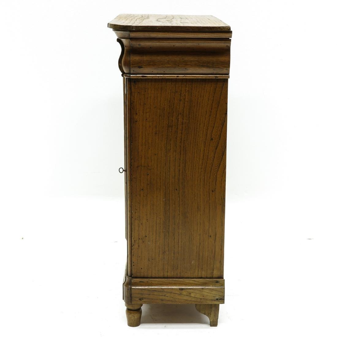 A Miniature Biedermeier Cabinet - 3