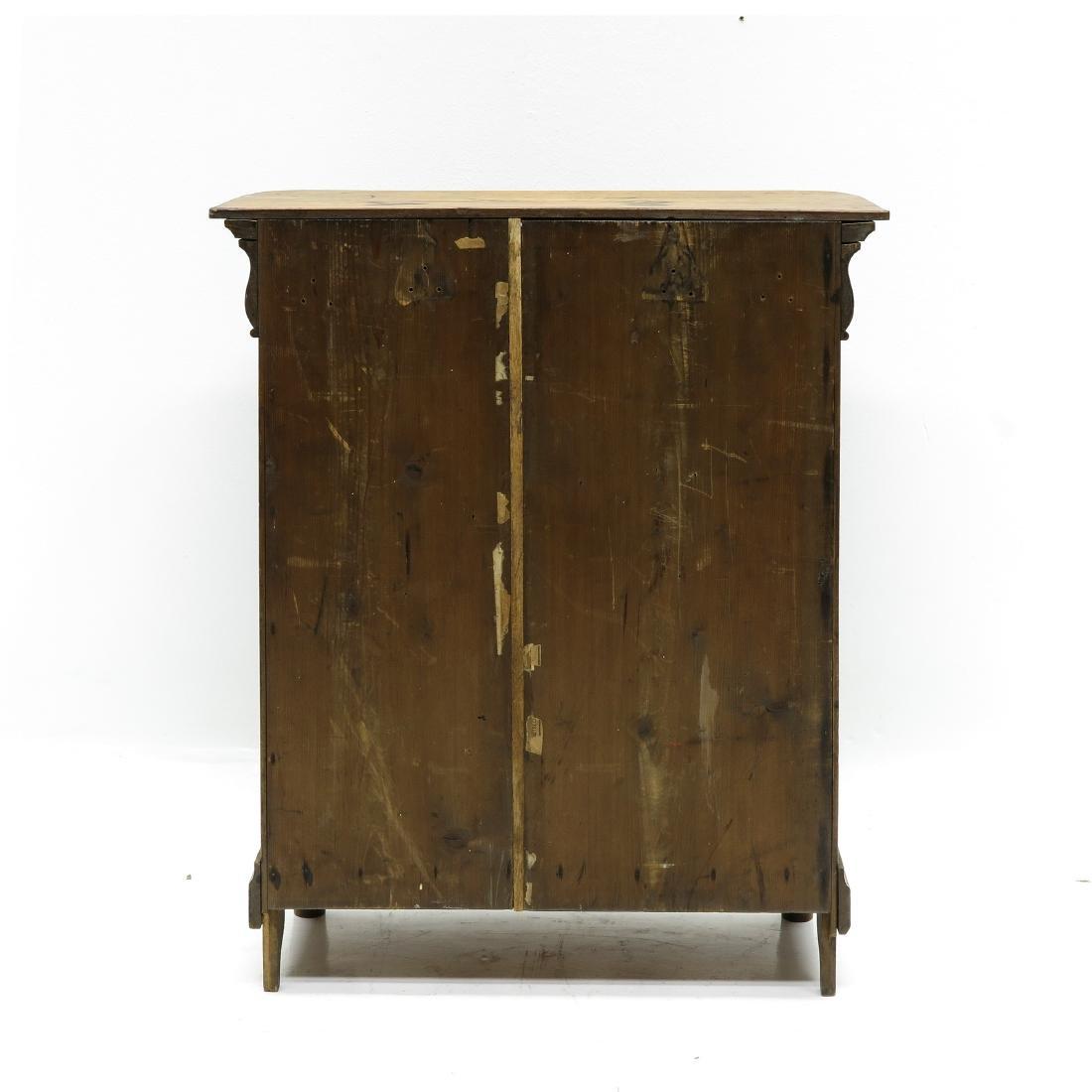 A Miniature Biedermeier Cabinet - 4
