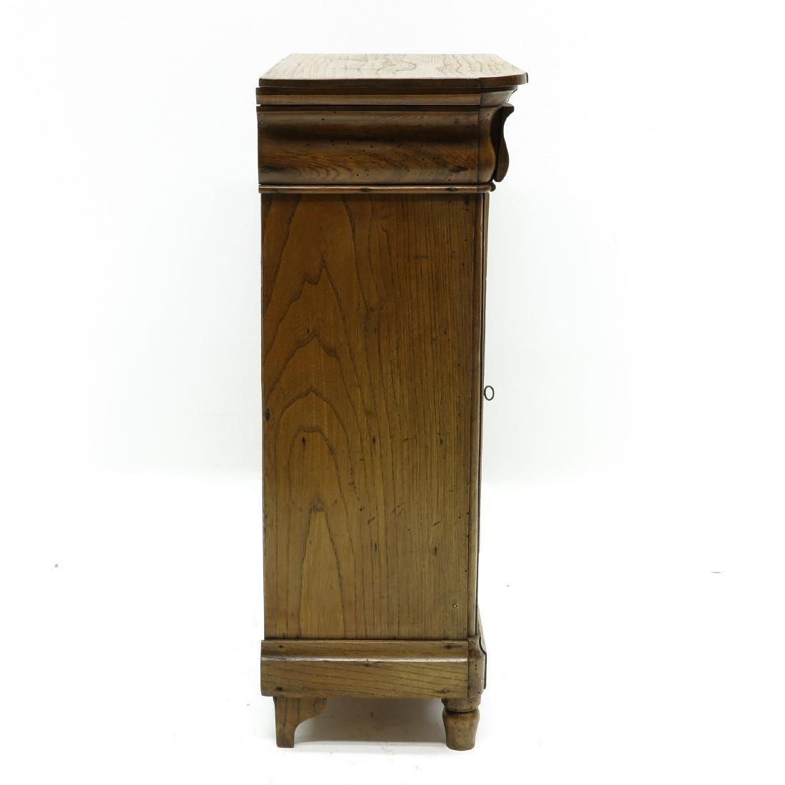 A Miniature Biedermeier Cabinet - 5