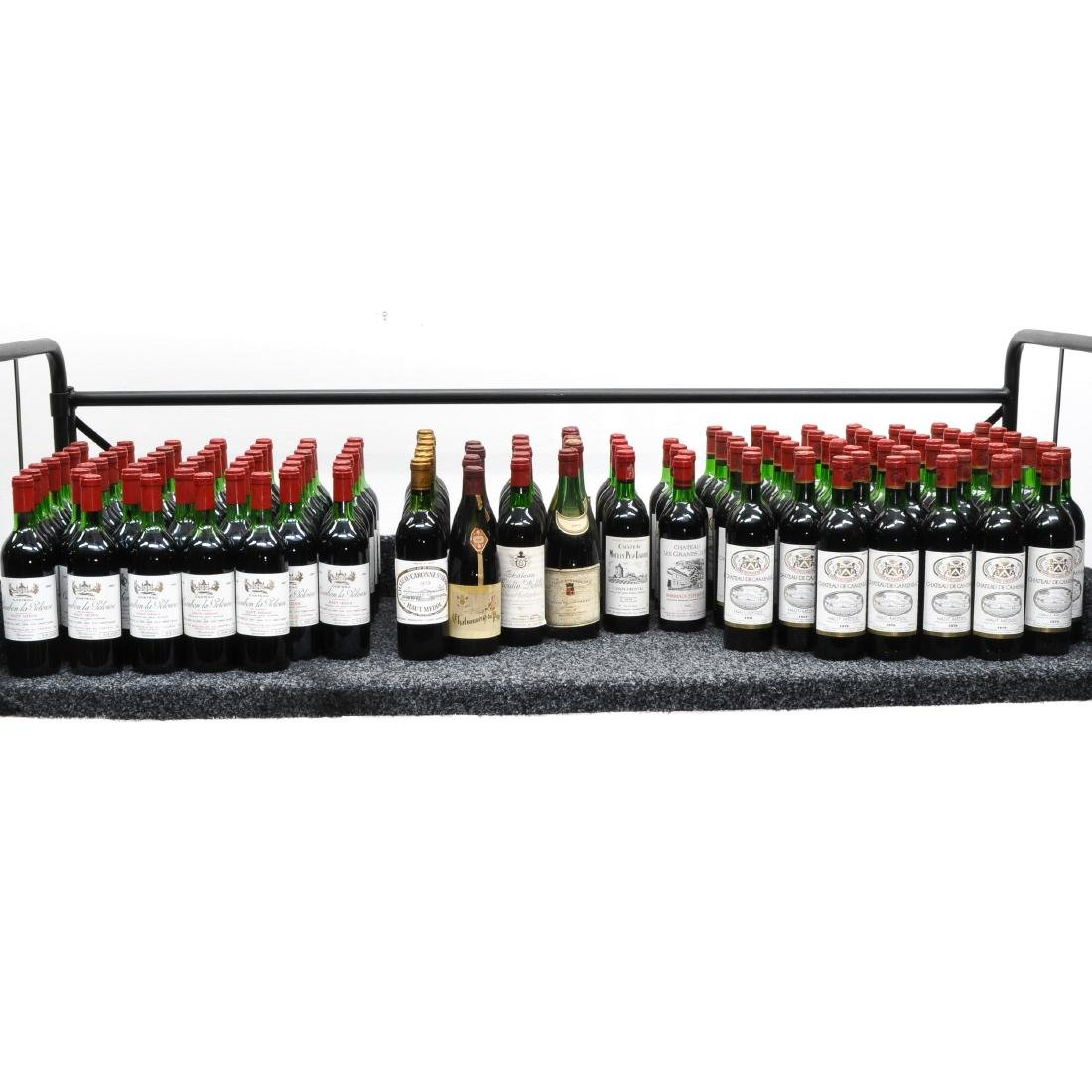 A Large Collection of Wine