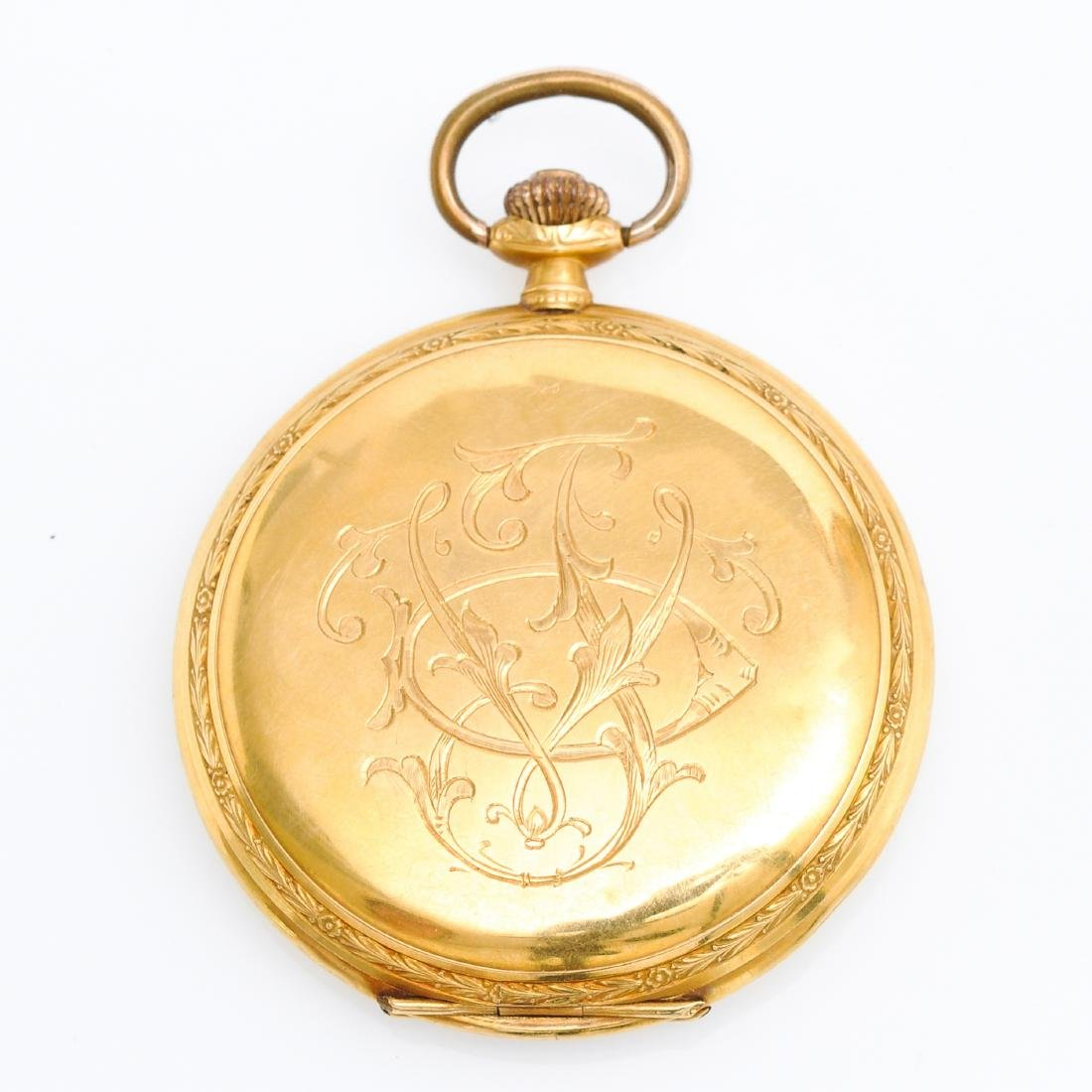 Two Gold Pocket Watches - 2